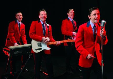 Jersey Boys 4 by Hugo Glendinning 430x300
