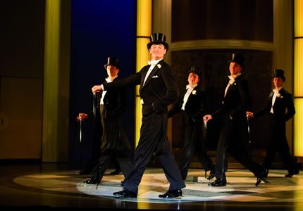 Top Hat - Production Shot - Men in top hats 430x300