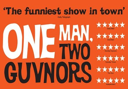 One Man, Two Guvnors big