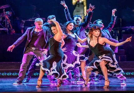 Burn the Floor Production Image 2