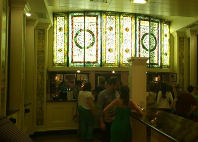 Criterion theatre bar (stained glass)