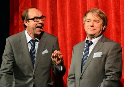 Eric and Little Ern big