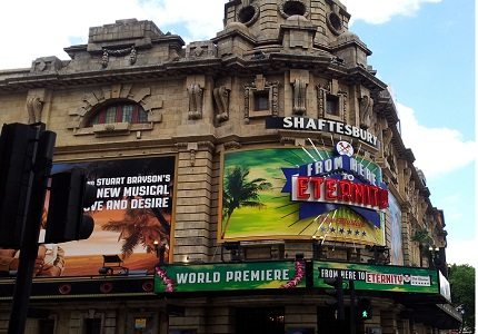 Shaftesbury Theatre - From Here to Eternity 3