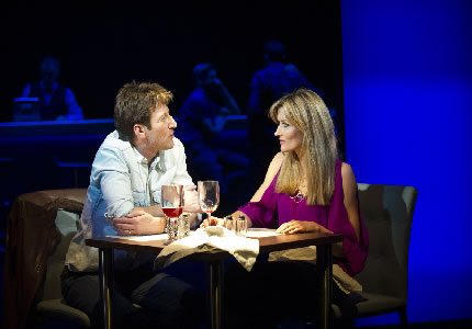 Official Theatre Size Mark Bazeley (Dan Gallagher) and Natascha McElhone (Alex Forrest) in Fatal Attraction