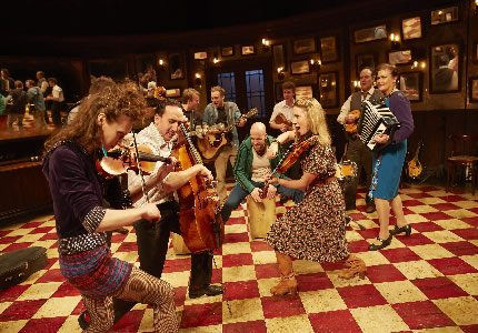 Official Theatre The West End cast of Once photo by Brinkhoff Moêgenburg(3) (2)