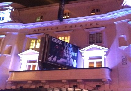 Let the right one In Sign Apollo Theatre Official Theatre