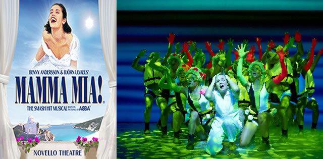 Mamma Mia dream scene