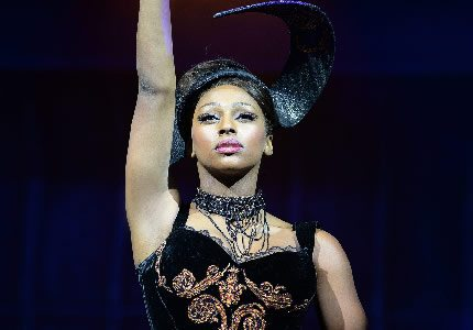 Alexandra Burke  (Rachel Marron) in The Bodyguard at The Adelphi Theatre Photo Credit Alessandro Pinna ot