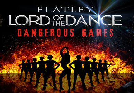 Lord of the Dance Dangerous Games Palladium Official Theatre size