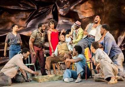 Porgy and Bess group shot