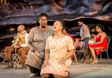 Production shot Porgy and Bess