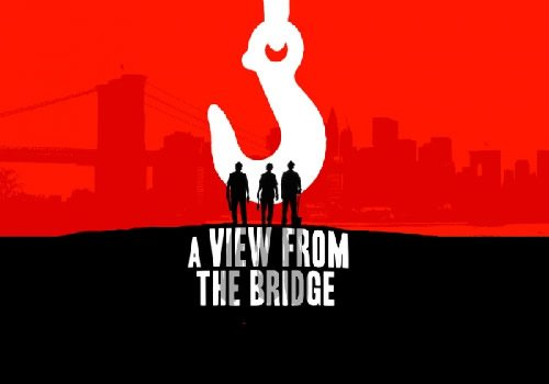 A view from the bridge show logo Official Theatre