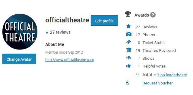 Official Theatre how to grow your website