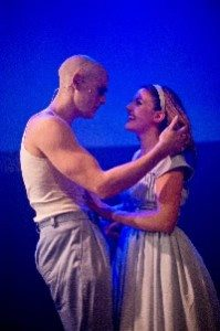 Rob Compton as Bay Boy and Georgina Hagen as Shelley  Photo Credit Garry Lake (2)