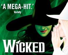 Wicked - Logo 232x187