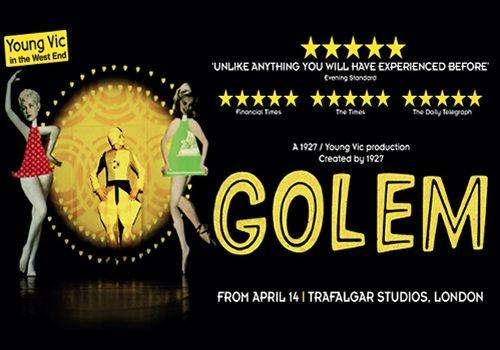 Golem Trafalgar Studios Bigger