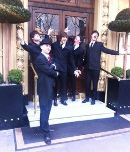 Outside the Waldorf