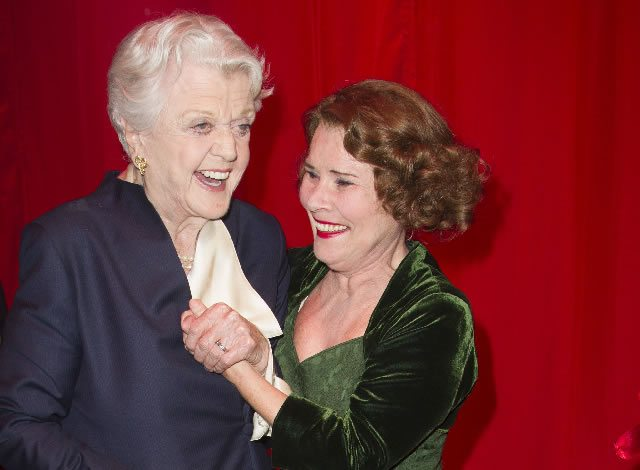 FIRST NIGHT Angela Lansbury and Imelda Staunton (Momma Rose) at the Press Night for the West End transfer of Gypsy at the Savoy Theatre  Photo Credit Dan Wooller (2)