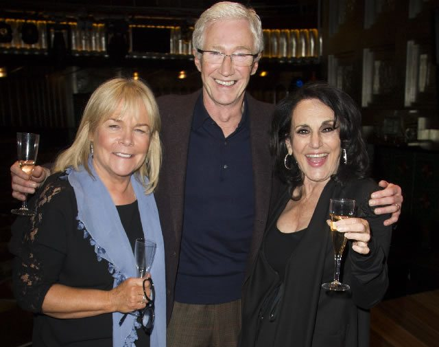 FIRST NIGHT Linda Robson Paul O'Grady and Lesley Joseph at Press Night for the West End transfer of Gypsy at the Savoy Theatre  Photo credit Dan Wooller