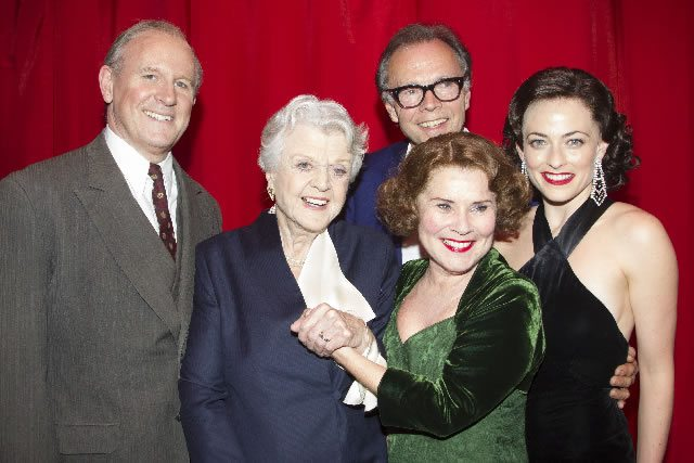 FIRST NIGHT Peter Davison (Herbie) Angela Lansbury Imelda Staunton (Momma Rose) Jonathan Kent (Director) Lara Pulver (Louise) on Press Night for Gypsy  Photo Cre