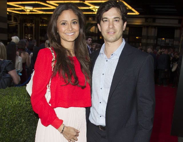 Nathalia Garcia and Adam Garcia at the Press Night for the West End transfer of Gypsy at the Savoy Theatre  Photo Credit Dan Wooller