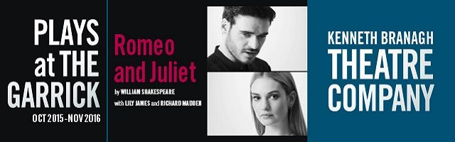 Romeo and Juliet Lily James Richard Madden blog