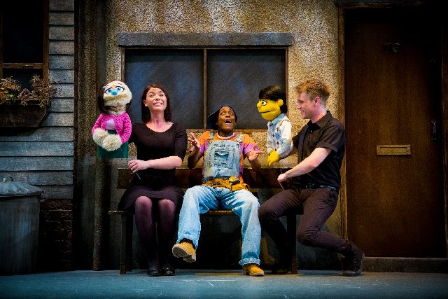 The Cast of Avenue Q  Photo Credit Matt Martin Photography