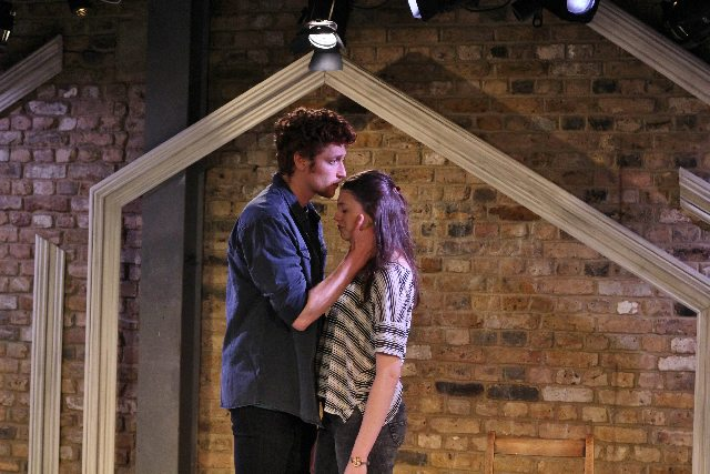 Daniel Donskoy (Sebastian) Jasmine Blackborow (Rosie) by Alex Parker