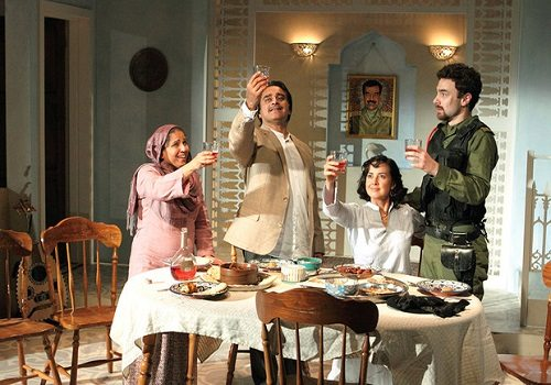 Dinner With Saddam - Production Shot 1