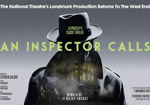 An Inspector Calls logo large