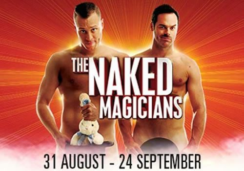 the naked magicians logo large