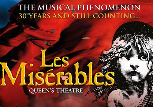 Les Misérables tickets