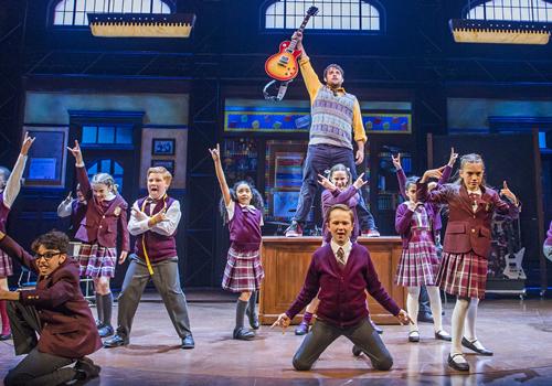 School of rock the musical gillian lynne theatre - School of rock box office ...