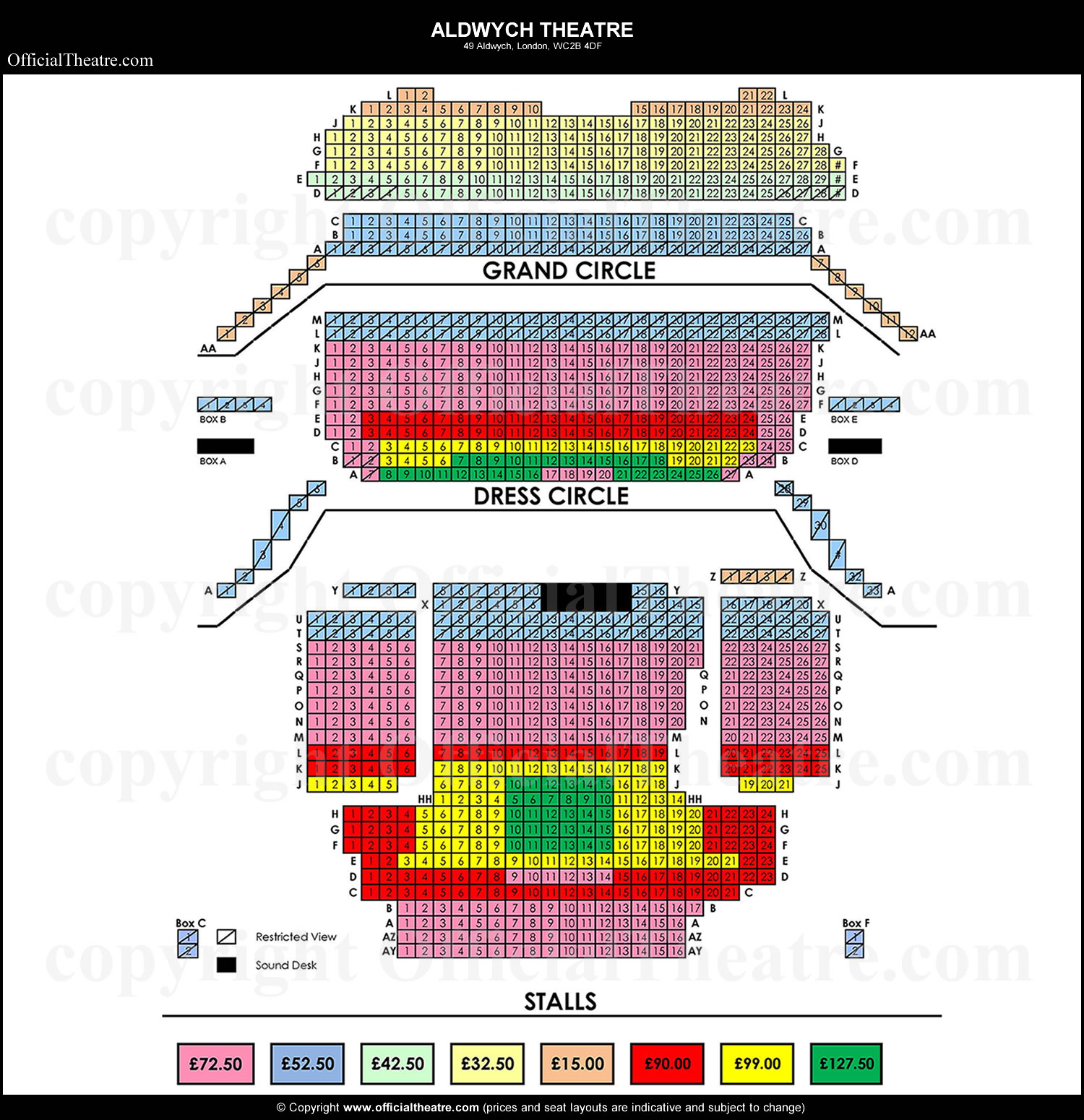 Aldwych Theatre seat prices Beautiful