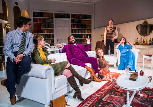 The Philanthropist Trafalgar Studios London Starring