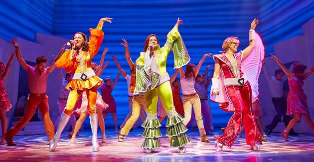 Mamma Mia Review At The Novello Theatre London
