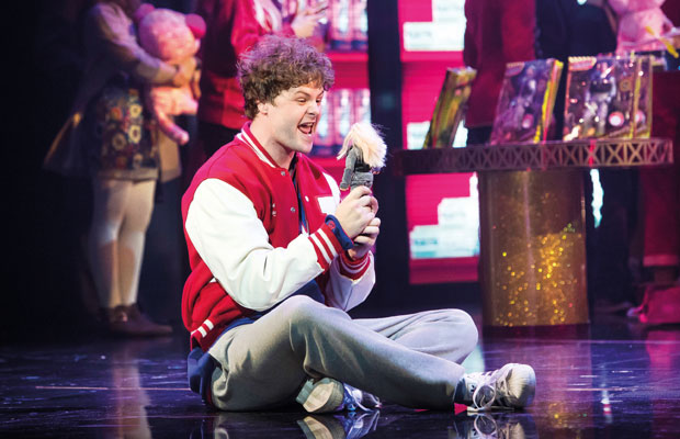 Jay McGuinness plays Josh Baskin in Big: The Musical