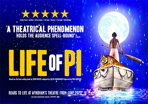 Life of Pi tickets