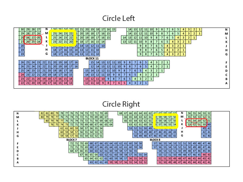 Sister Act Eventim Apollo Circle seating plan