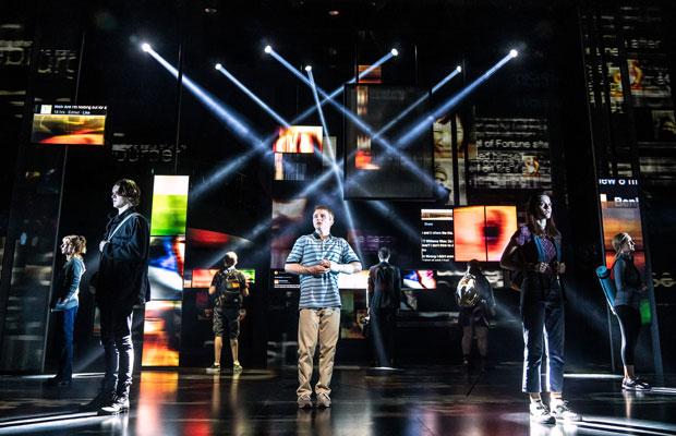 Sam Tutty stars in Dear Evan Hansen at the Noel Coward Theatre