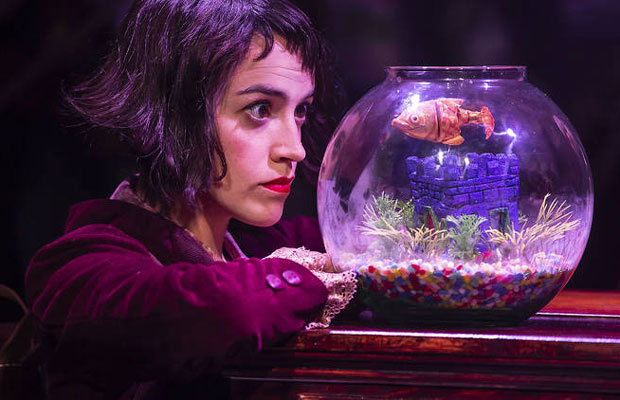 Adrey Brisson as Amelie at The Other Palace theatre, London