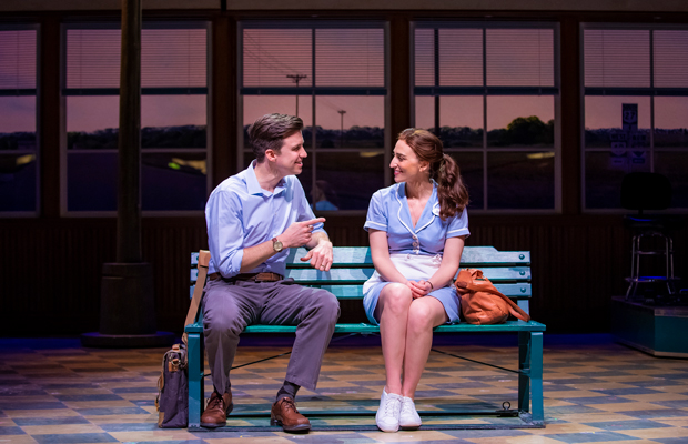 Gavin Creel and Sara Bareilles star in Waitress at the Adelphi Theatre