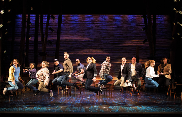 The cast of Come From Away at the Phoenix Theatre