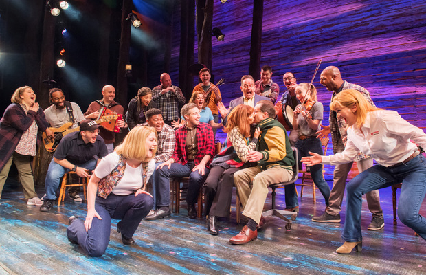 The new cast of Come From Away at the Phoenix Theatre