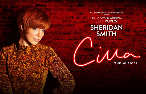 Sheridan Smith stars in the UK tour of Cilla the Musical, rumoured to be coming to London later this year