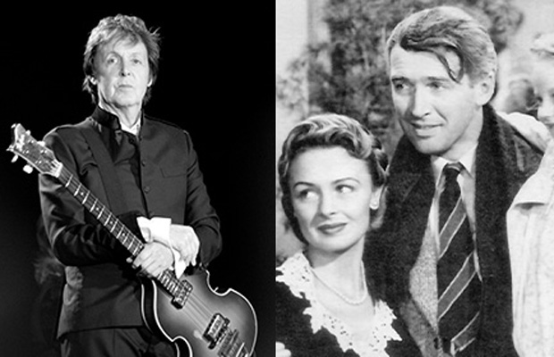 Sir Paul McCartney is writing a new musical adaptation of the classic film It's a Wonderful Life