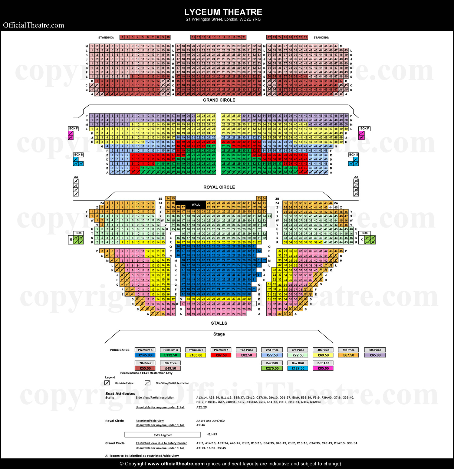 Lyceum-Theatre-seat-prices-2020