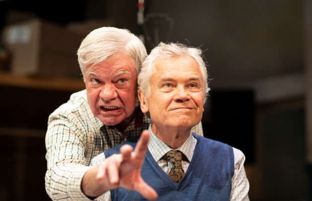The UK tour of Alan Bennett's The Habit of Art will be streamed online