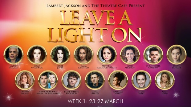 Leave a Light On is a series of live concerts from musical theatre stars
