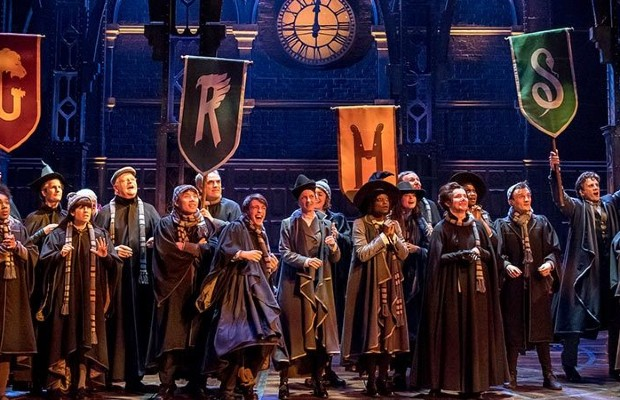 The cast of Harry Potter and the Cursed Child at the Palace Theatre